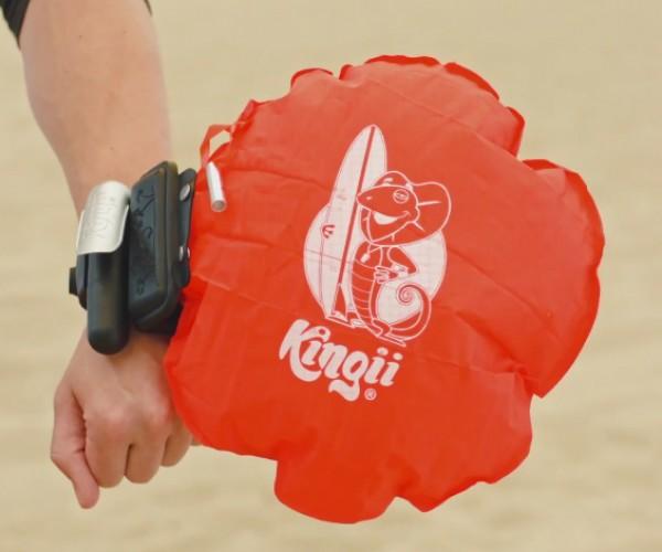 Kingii Personal Flotation Device: One Wrist, No Risk