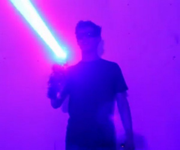 40W Laser Shotgun Will Kill Your Retinas