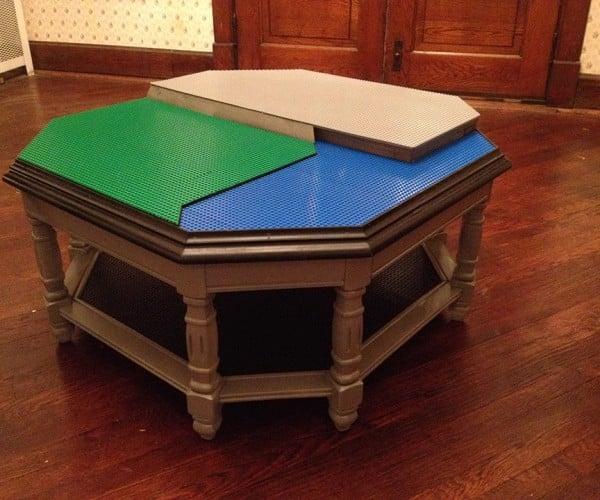 DIY LEGO Base Plate Table: Imagination Foundation