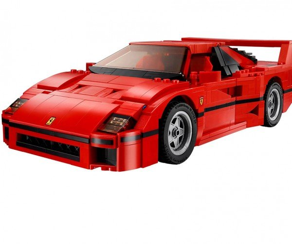 LEGO Ferrari F40 is the Coolest Blocky Supercar Ever