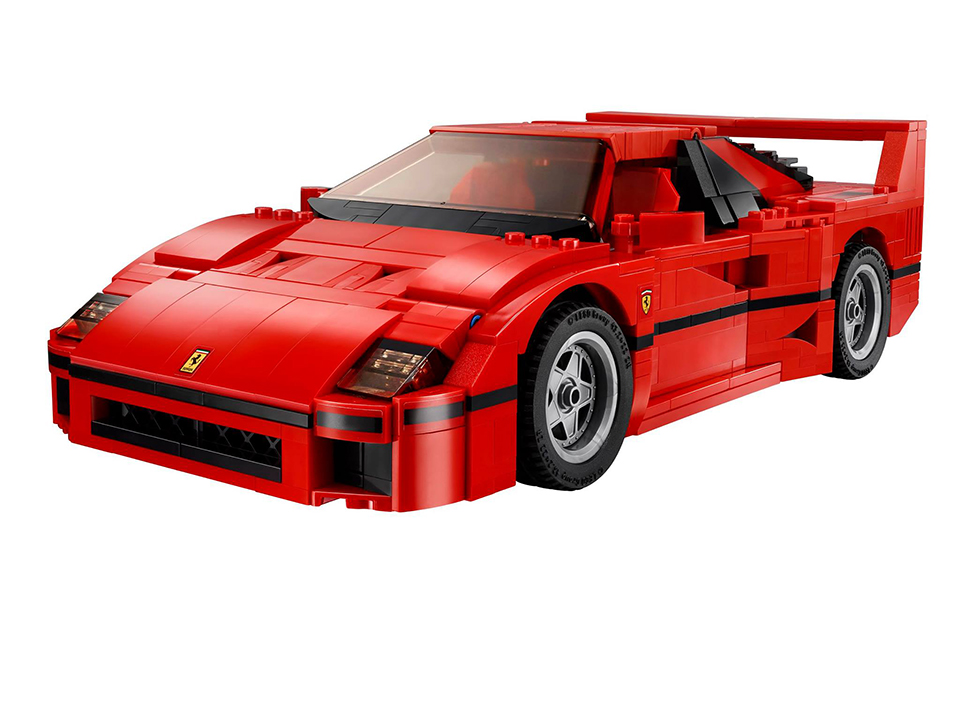 lego ferrari f40 is the coolest blocky supercar ever. Black Bedroom Furniture Sets. Home Design Ideas