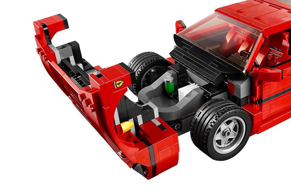 Lego Ferrari F40 Is The Coolest Blocky Supercar Ever