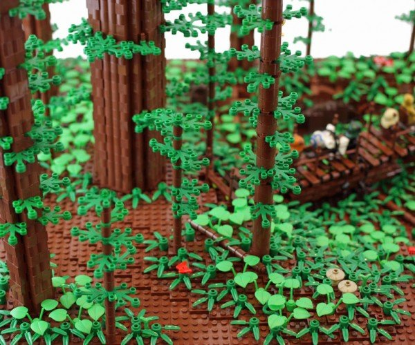 LEGO Going Green, but Keeping All Its Colors