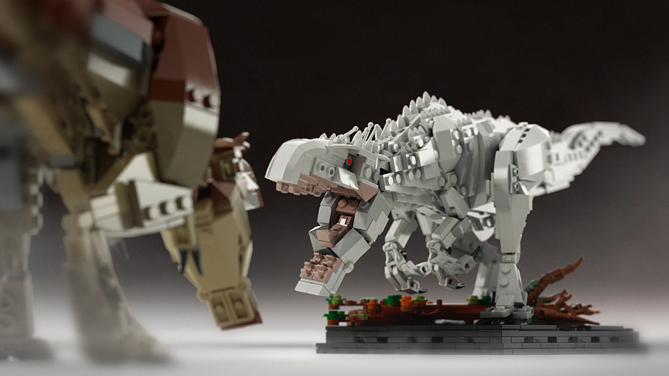 LEGO Indominus Rex Concept Wants to Escape from LEGO Ideas - Technabob