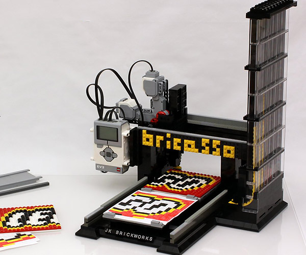 DIY LEGO Mosaic Printer: Bricasso