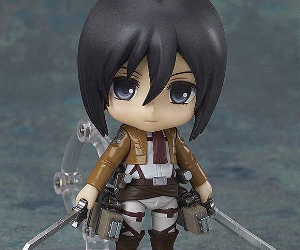 Mikasa Ackerman Nendoroid Action Figure Wants to Fight