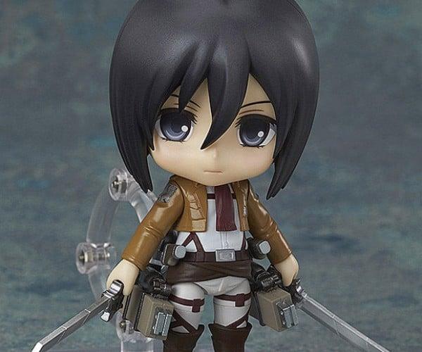 Mikasa Ackerman Nendoroid Action Figure Wants to Fight