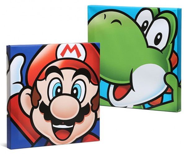Mario Canvas Art Makes Me Want to Play Mario Kart