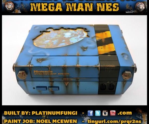 Custom Apocalyptic Mega Man NES: Vault Man