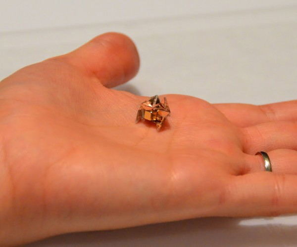 Miniature Machine Controlled by Heat and Electromagnetic Fields: TermiNature