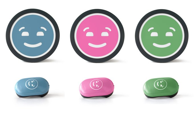 motormood car light lets you thank drivers with a smiley face   technabob