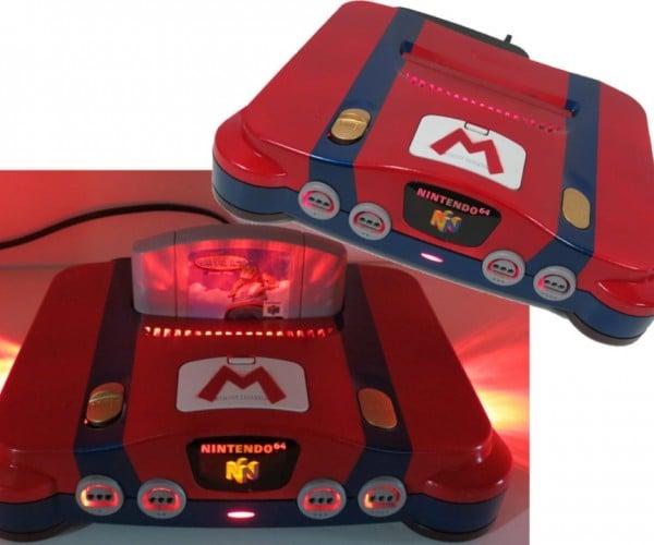 Nintendo 64 Custom Mario Console