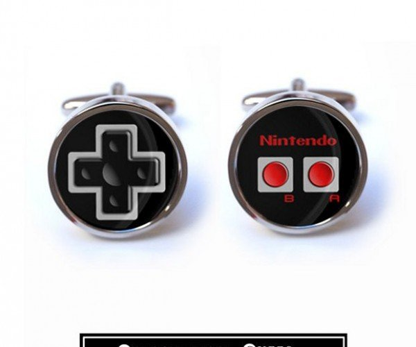 Nintendo Controller Cufflinks: For Formal Gaming