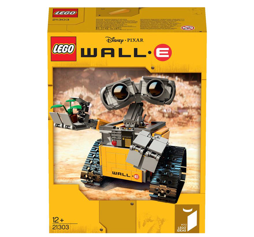 official lego wall e set is better than pizza plants technabob. Black Bedroom Furniture Sets. Home Design Ideas
