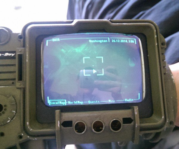 DIY Pip-Boy 3000 Map: Explorer Perk