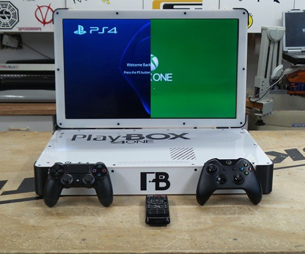 Xbox One & PS4 Combo Laptop Case Mod Mk.II: All in One Greatness Awaits