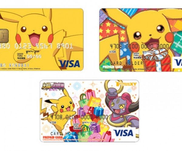 Pokémon Credit Cards: Gotta Charge 'Em All