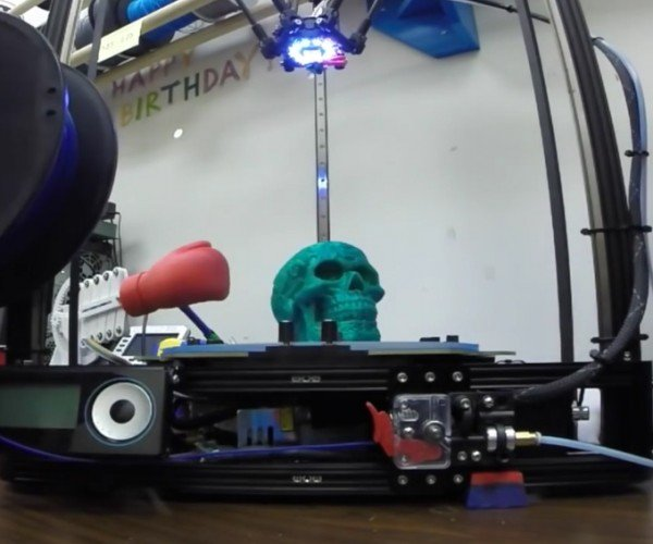 3D Printed Toy Knocks Finished Prints Off the 3D Printer: PLAss Joe
