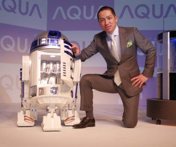 Life-Size R/C R2-D2 Mini Refrigerator: The Fridge Awakens