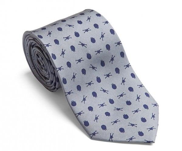Star Wars Rebel Fighter Necktie: Elegant Neckwear for a More Civilized Time