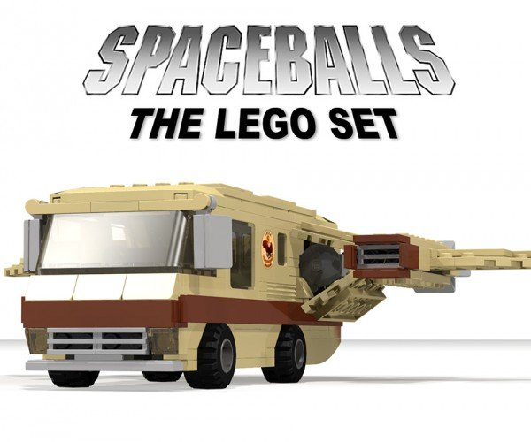 Spaceballs Eagle 5 LEGO Concept is Strangely Attractive