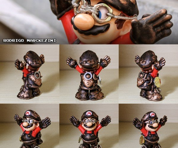 Steampunk Mario: I Say Good Sir, Would You Kindly Release Our Princess?