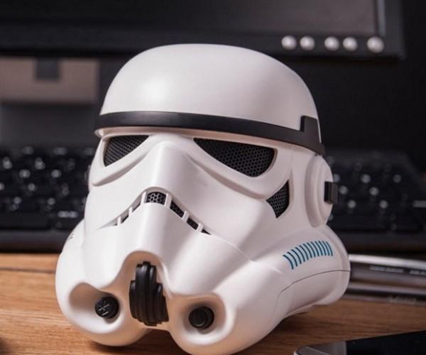 Portable Star Wars Stormtrooper Helmet Speaker: Death Star Disco