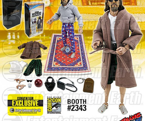 The Dude Action Figure Abides