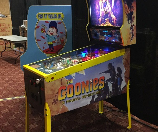 Custom The Goonies Pinball Machine: Goonies Never Say Drain!