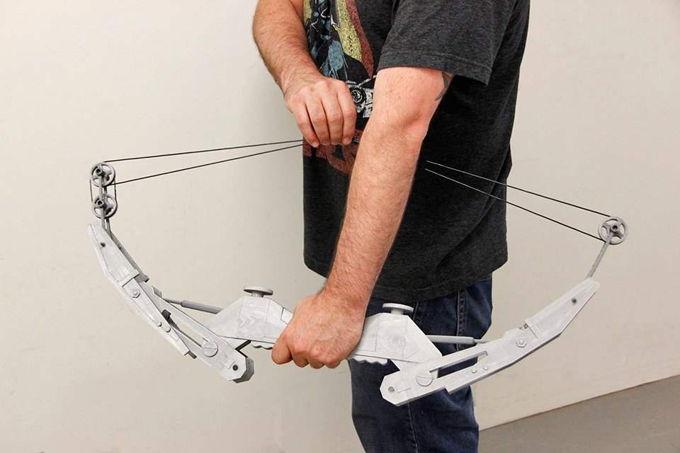 3D Printed Life-size Thief Bow Replica: The Plastic Age