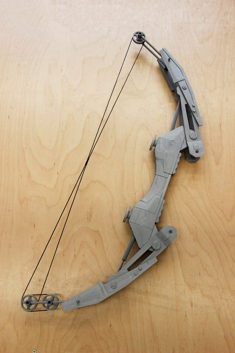 3d Printed Life Size Thief Bow Replica The Plastic Age