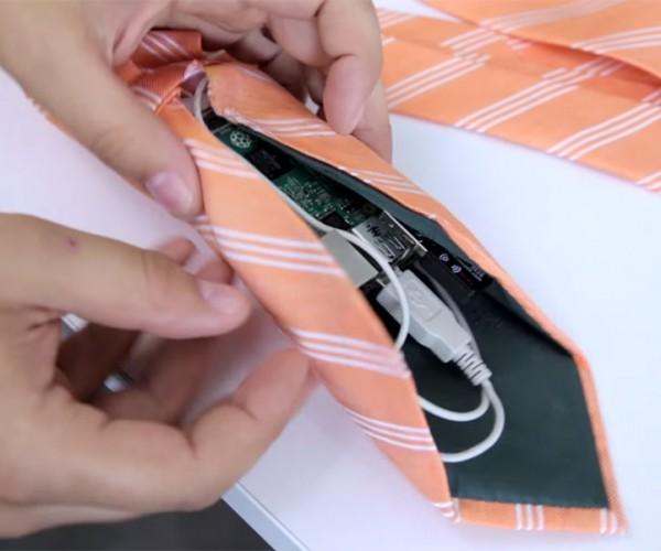 DIY Necktie Wi-Fi Hotspot: TieFi