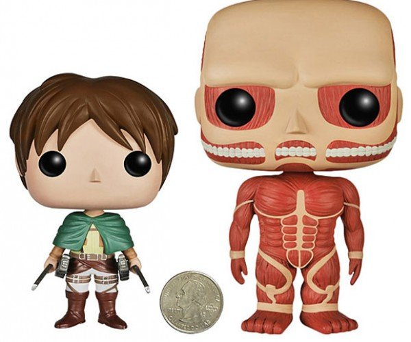 Attack on Titan POP Action Figures Protect their Necks