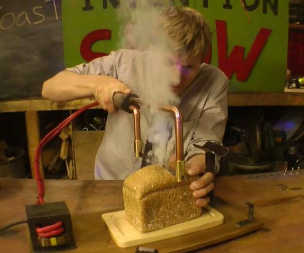 DIY Knife Toasts Bread as it Slices: The FurzoToasto