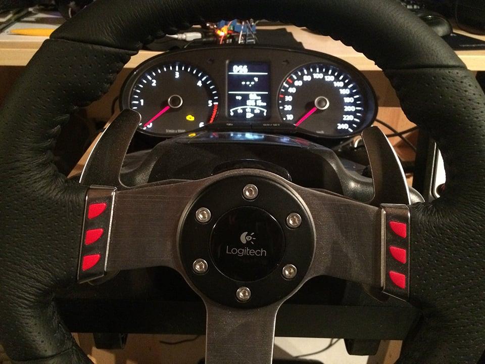 DIY Euro Truck Simulator 2 Dashboard: A Dash of Realism