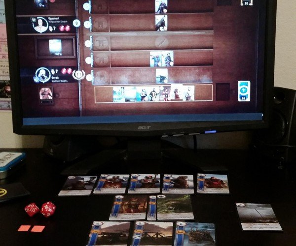 Printed Witcher 3 Gwent Cards Are All Weak to Torrential Rain