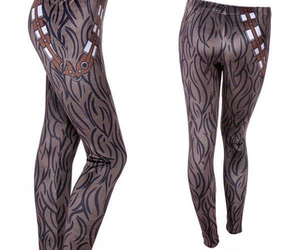 Chewbacca Velvet Leggings Are Better Than Not Shaving Your Legs