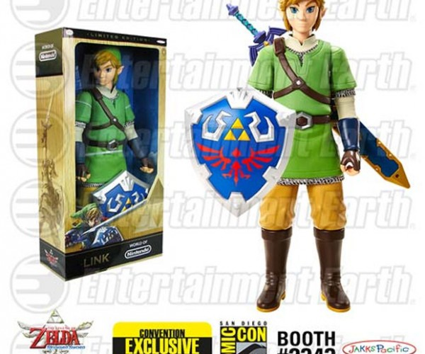 Legend of Zelda: Skyward Sword Action Figure is Gigantic