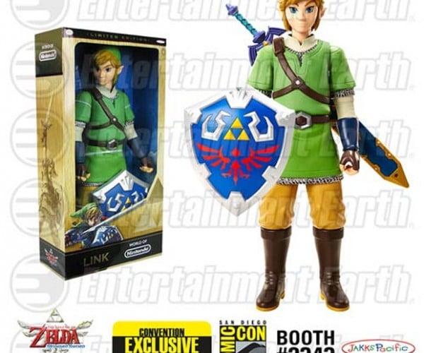 Legend of Zelda: Skyward Sword Action Figure is Gigantic