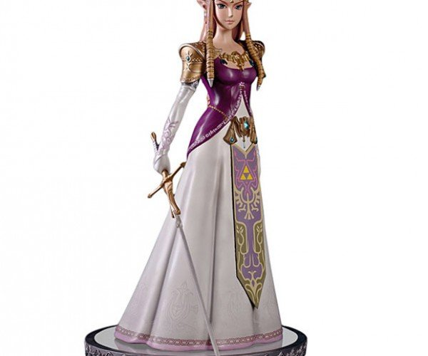 Legend of Zelda Princess Statue Doesn't Want You to Go Alone