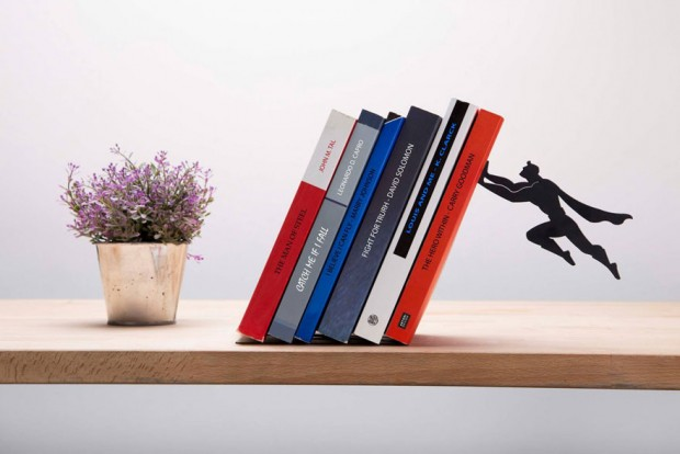 Artori Superhero Bookends