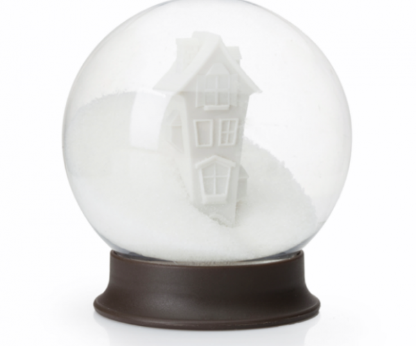 This Snow Globe is a Sugar Bowl