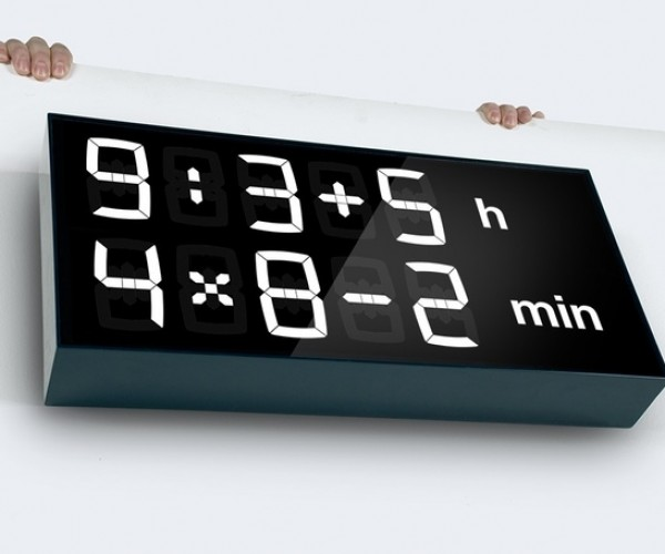 Albert Digital Clock: Wake up and Smell the Math