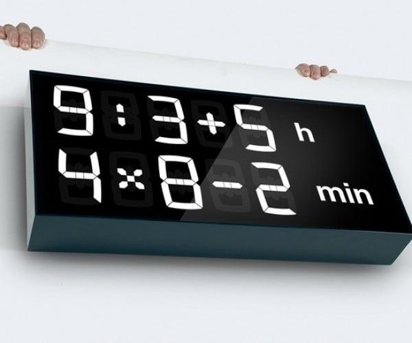 Albert Digital Clock: Wake up and Smell the Math