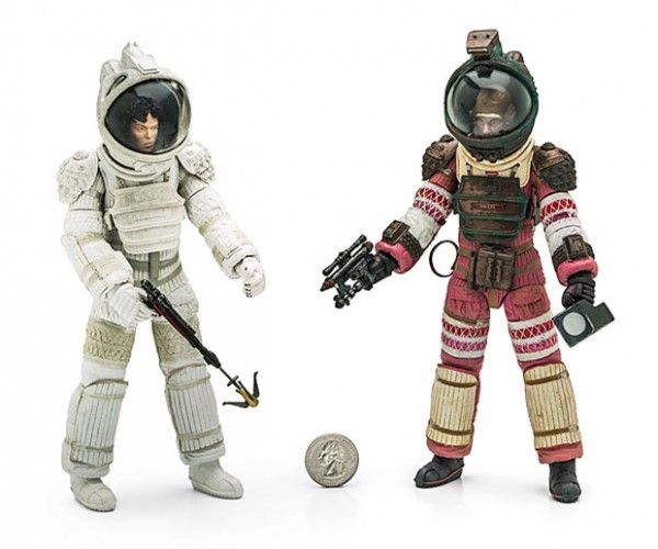 Alien Series 4 Action Figures: In Space, No One Can Hear You Play
