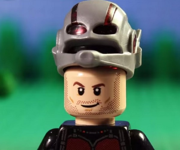 Marvel's Ant-Man Trailer in LEGO