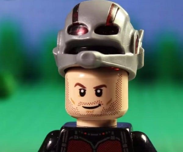 Marvel's Ant-Man Trailer in LEGO