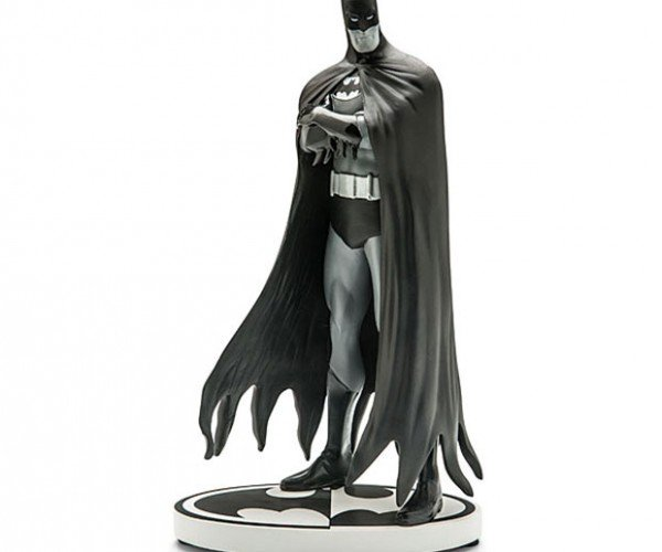 Black and White Batman Statuette: 50 Shades of Wayne