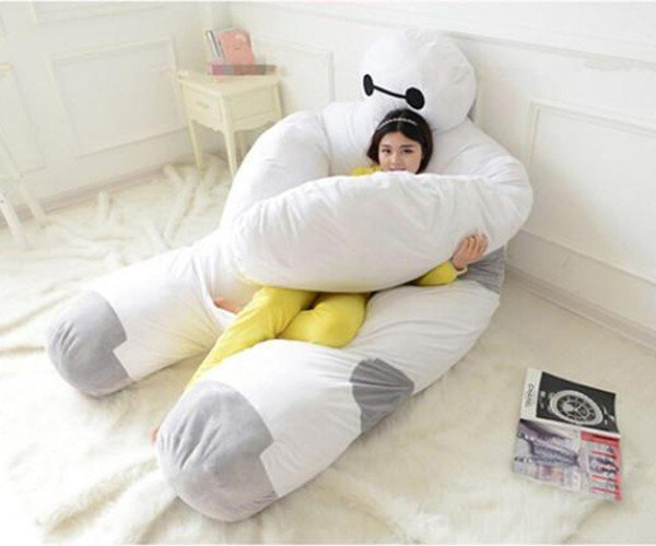Baymax Futon Lets Even Big Heroes Sleep