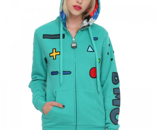 Adventure Time BMO Hoodie: Red Hot Like Pizza Supper
